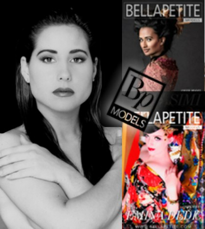 Bella Petite Model Cover Girl: April Dion - YouTube